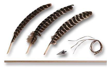 Picture of Bone Arrow Kit with Turkey Feathers